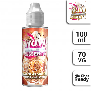 WTWIC Desserts Danish Swirl 100ml