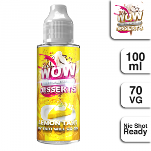 WTWIC Desserts Lemon Tart 100ml