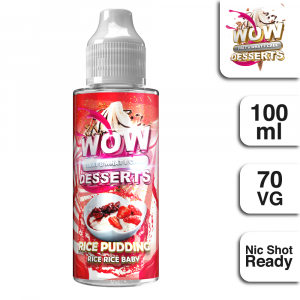WTWIC Desserts Rice Pudding & Strawberry 100ml
